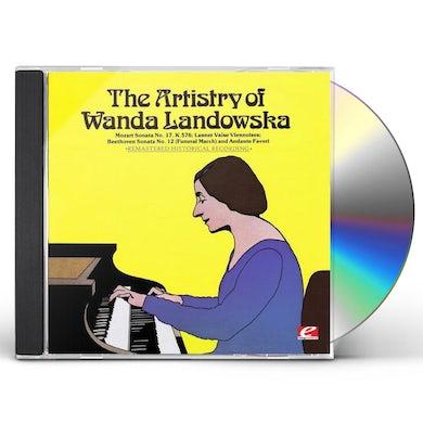 ARTISTRY OF WANDA LANDOWSKA CD