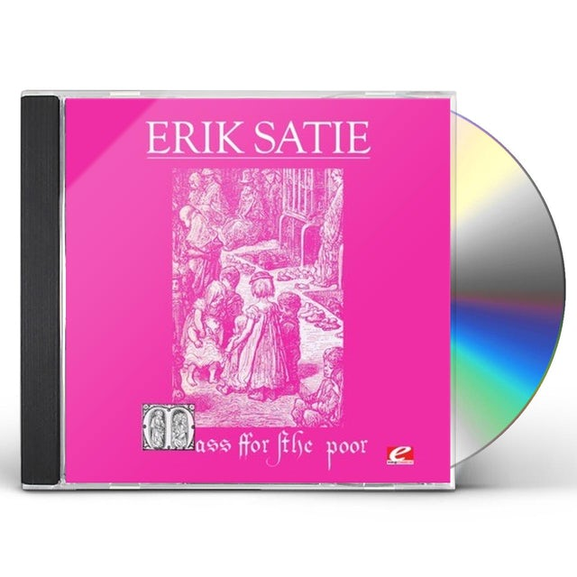 Erik Satie MASS FOR POOR (MESSE DES PAUVRES) CD