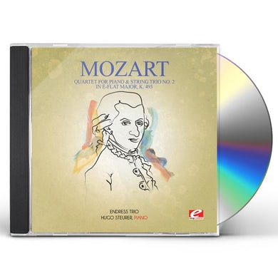 Wolfgang Amadeus Mozart QUARTET FOR PIANO & STRING TRIO NO. 2 IN E-FLAT CD