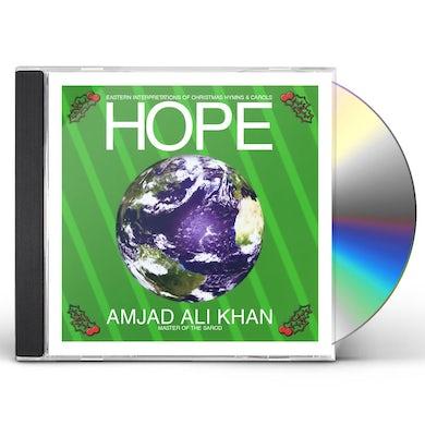 Amjad Ali Khan HOPE - EASTERN INTERPRETATIONS OF CHRISTMAS HYMNS CD
