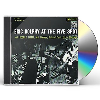 Eric Dolphy LIVE AT THE FIVE SPOT 1 CD
