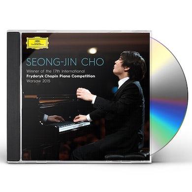 Seong-Jin Cho WINNER: 17TH INTERNATIONAL CHOPIN PIANO COMPETITIO CD