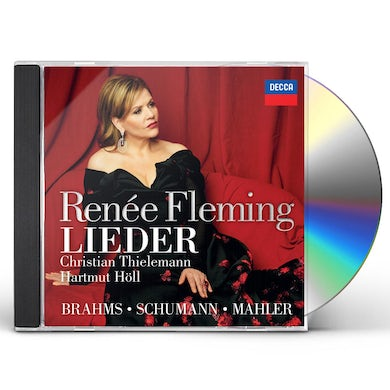 Renee Fleming BRAHMS SCHUMANN & MAHLER: LIEDER CD