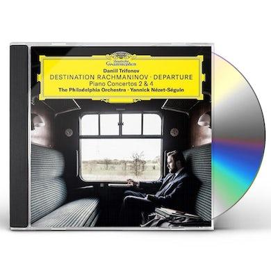 Daniil Trifonov DESTINATION RACHMANINOV - DEPARTURE CD