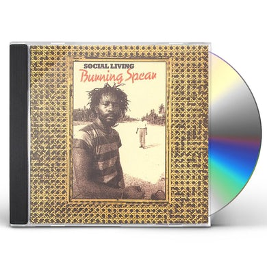 Burning Spear SOCIAL LIVING CD
