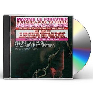 Maxime Le Forestier PLUTOT GUITARE CD
