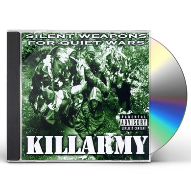 Killarmy SILENT WEPONS FOR QUIET WARS CD