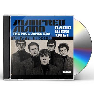 Manfred Mann  Radio Days: Vol. 1: Live At The BBC: 1964-1966 CD
