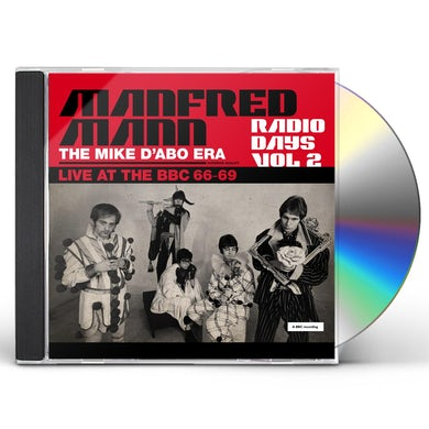 Manfred Mann  Radio Days: Vol. 2: Live At The BBC: 1966-1969 CD