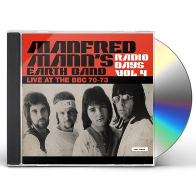 Manfred Mann's Earth Band Radio Days: Vol. 4: Live At The BBC: 1970-1973 CD