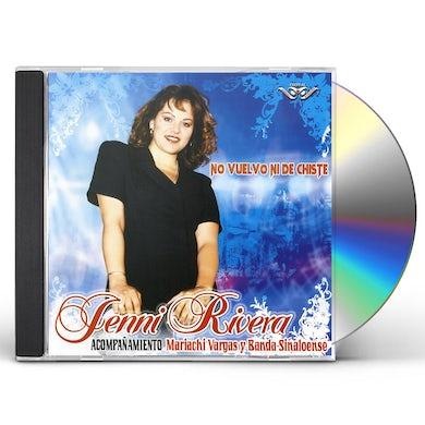 Jenni Rivera NO VUELVO NI DE CHISTE CD