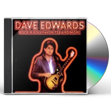 Dave Edwards ROCK N ROLL FAVORITES & MORE CD