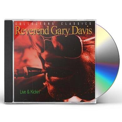 Gary Davis LIVE & KICKING CD