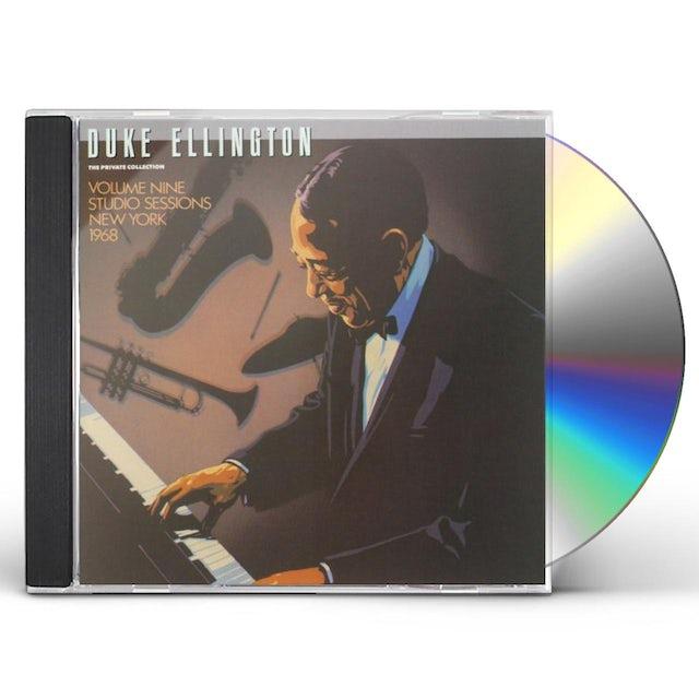 Duke Ellington PRIVATE COLLECTION 9: STUDIO SESSIONS 1968 CD