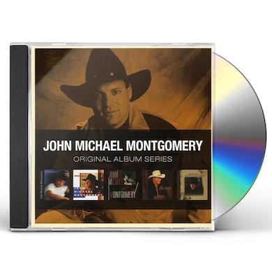 John Michael Montgomery ORIGINAL ALBUM SERIES CD