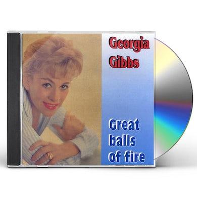 Georgia Gibbs GREAT BALLS OF FIRE HITS CD