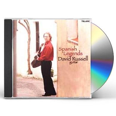 David Russell SPANISH LEGENDS CD
