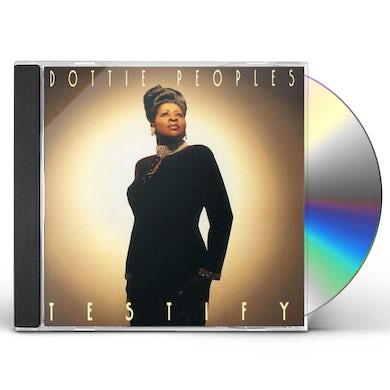 Dottie Peoples TESTIFY CD