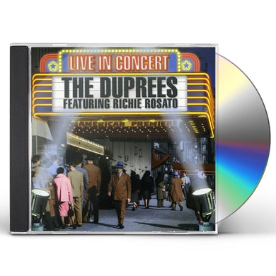 Duprees LIVE IN CONCERT CD