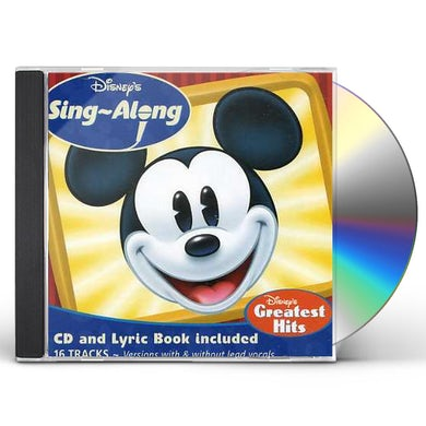 SING A LONG DISNEYS GREATEST CD