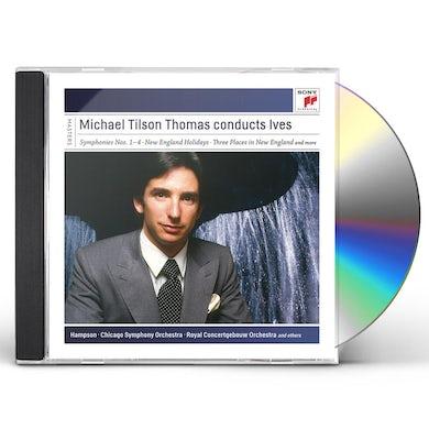THOMAS CONDUCTS IVES CD