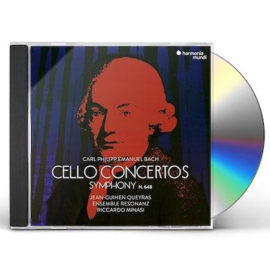 Jean-Guihen Queyras C.P.E. BACH: CELLO CONCERTOS & SYMPHONIES CD