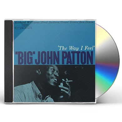 Big John Patton WAY I FEEL CD