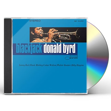 Donald Byrd BLACKJACK CD