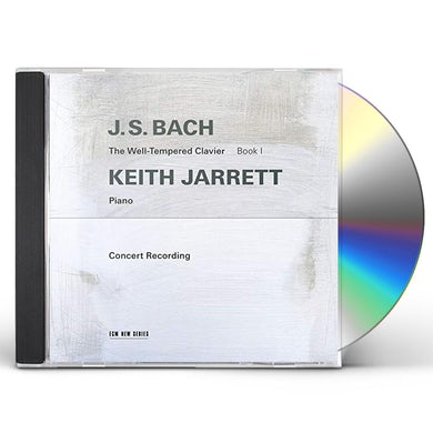 Keith Jarrett J.S. BACH: THE WELL-TEMPERED CLAVIER. BOOK I (UHQCD) CD