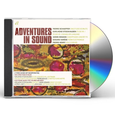 Karlheinz Stockhausen ADVENTURES IN SOUND CD