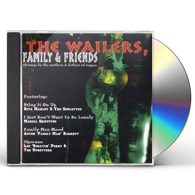 The Wailers FAMILY & FRIENDS CD