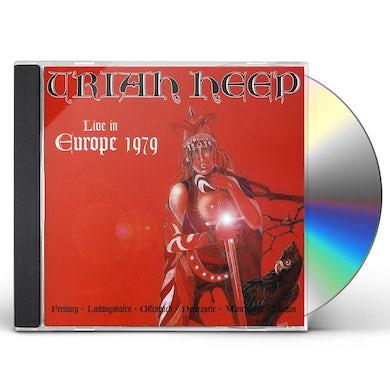 Uriah Heep LIVE IN EUROPE CD