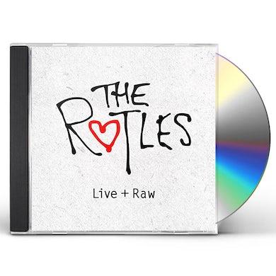 Rutles LIVE + RAW CD
