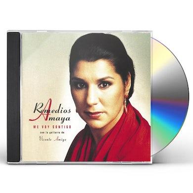 Remedios Amaya ME VOY CONTIGO CD