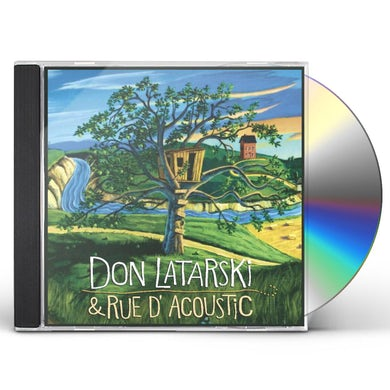 Don Latarski RUE D'ACOUSTIC CD
