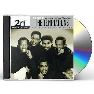The Temptations 20TH CENTURY MASTERS 2 CD