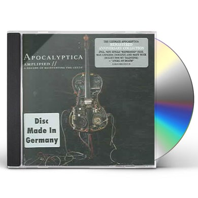 Apocalyptica AMPLIFIED: A DECADE OF REINVENTING THE CELLO CD