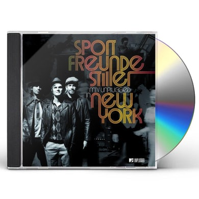 Sportfreunde Stiller MTV UNPLUGGED IN NEW YORK CD
