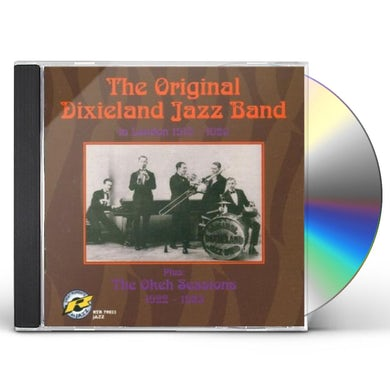 Original Dixieland Jazz Band IN LONDON 1919-1920 / OKEH SESSIONS 1922-1923 CD