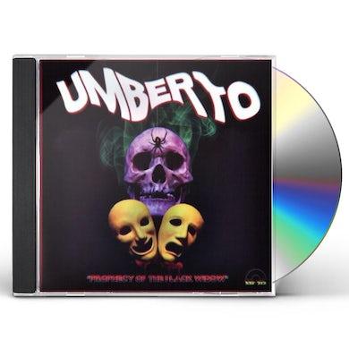 Umberto PROPHECY OF THE BLACK WIDOW CD