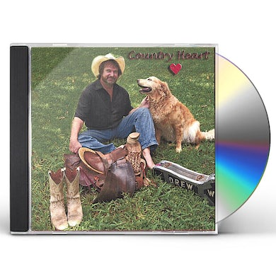 Drew Womack COUNTRY HEART CD