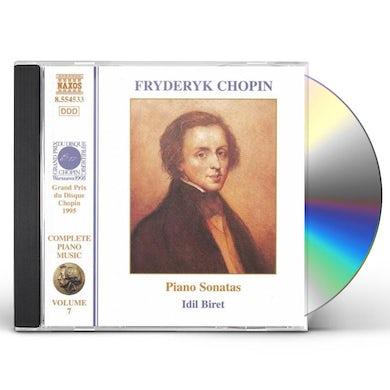 Chopin PIANO SONATAS 1-3 CD