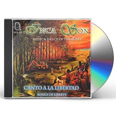 Inca Son CANTOS A LA LIBERTAD 3 CD