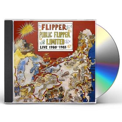 PUBLIC FLIPPER LIMITED LIVE 1980-1985 CD