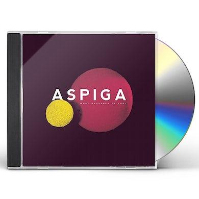 Aspiga WHAT HAPPENED TO YOU CD