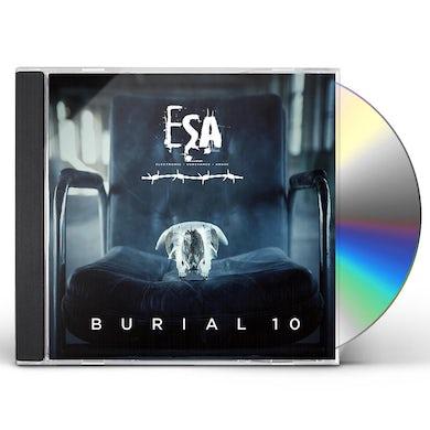 BURIAL 10 CD