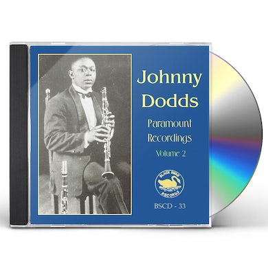 Johnny Dodds COMPLETE PARAMOUNT RECORDINGS 2 CD