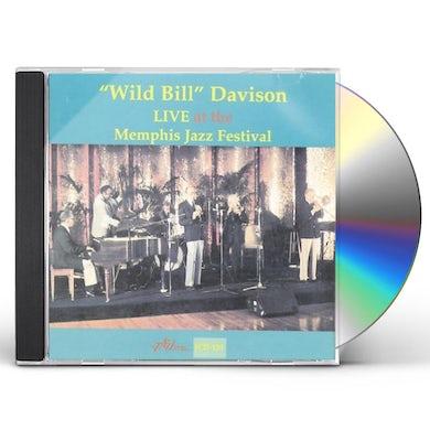 Wild Bill Davison LIVE AT THE MEMPHIS JAZZ FESTIVAL CD