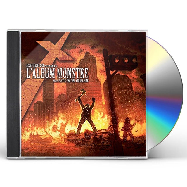 Exterio L'ALBUM MONSTRE: 3EME PARTIE: FEU VOL VANDALISME CD