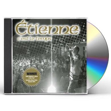 Etienne C'EST LE TEMPS CD
